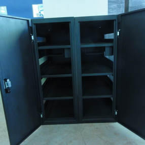2 Bay Battery Cabinet