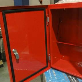 Customized Red Enclosure