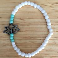 White Lotus Bracelet
