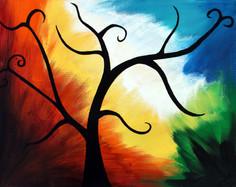 Colorful Tree Silhouette.JPG