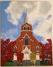 Autumn SFX Church, Petoskey