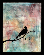 Silhouetto of a Bird