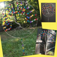 """12"""" Tree of Life Suncatcher"""