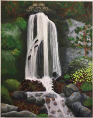 Bayfront Waterfall, Petoskey