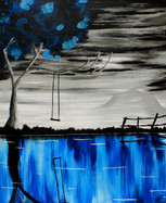 Reflecting Blue