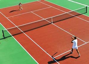 progetto illuminotecnico campo tennis