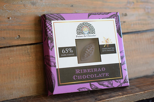 65% brazilian chocolate with coffee