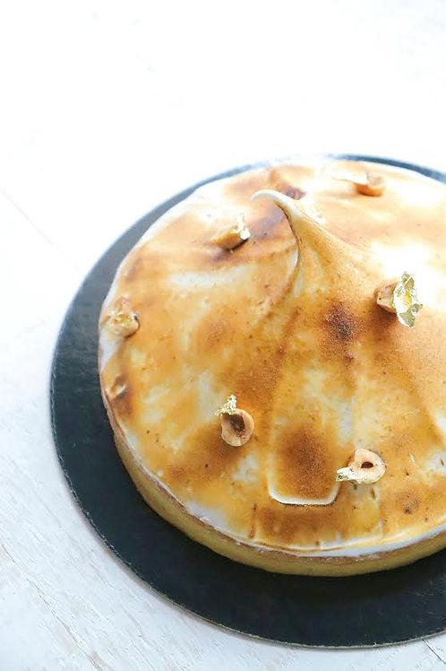 Tartelet citroen-hazelnoten-caramel GV/LV 1pers