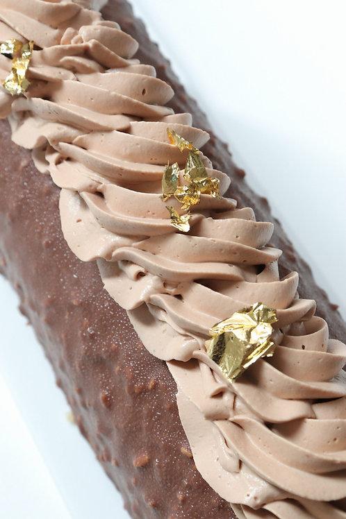 Bûche chocolat vanille - 6pers GV/LV