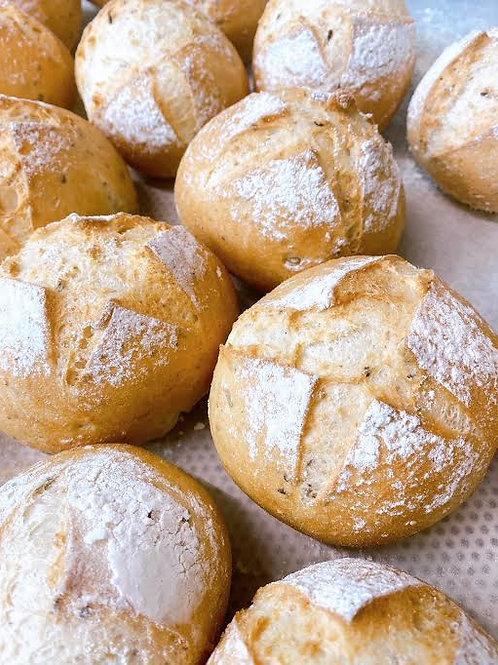LICHT Broodje meergranen GV/LV/MV/SOYAVRIJ/VEGAN - 4st