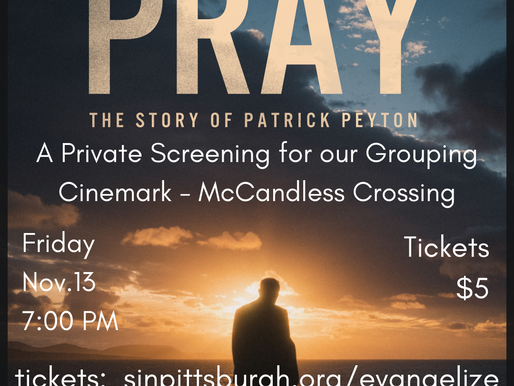 Pray - The Movie - SOLD OUT!