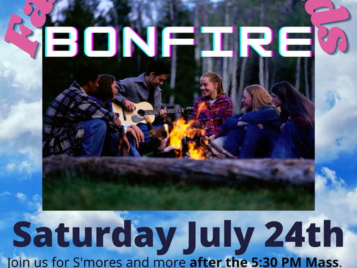 Family and Friends BonFire - July 24