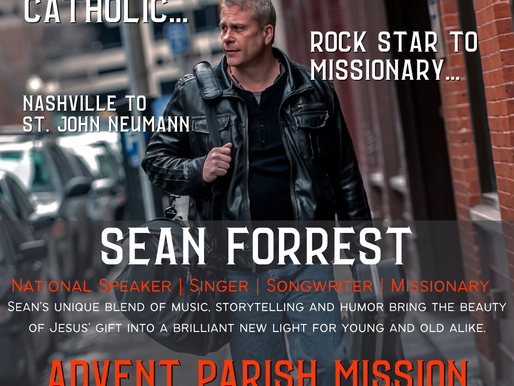 Sean Forrest - Advent Parish Mission