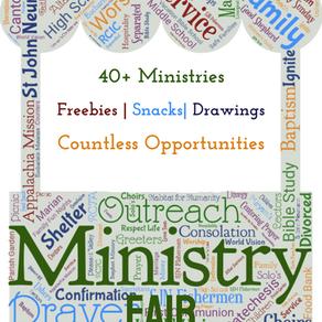 SJN Ministry Fair is BACK!!