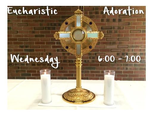 Come to Me - Eucharistic Adoration