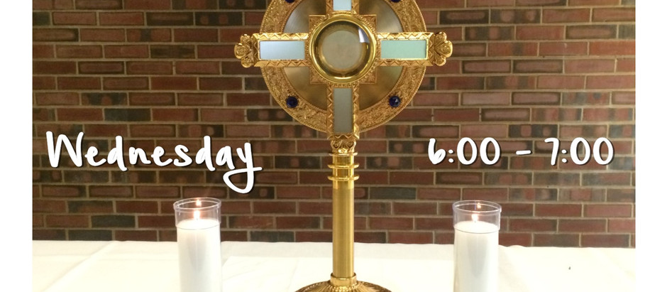 Come to Me - Eucharistic Adoration