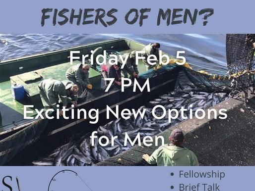 Fishermen or Fishers OF men?