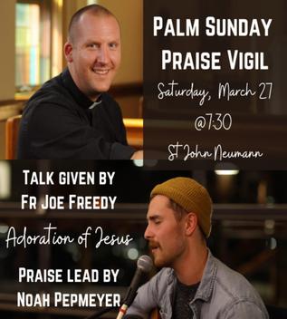 Palm Sunday Praise Vigil