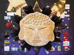 Paris Gold Buddha