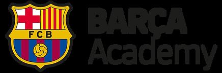 Barça Logo Black (Hor).png