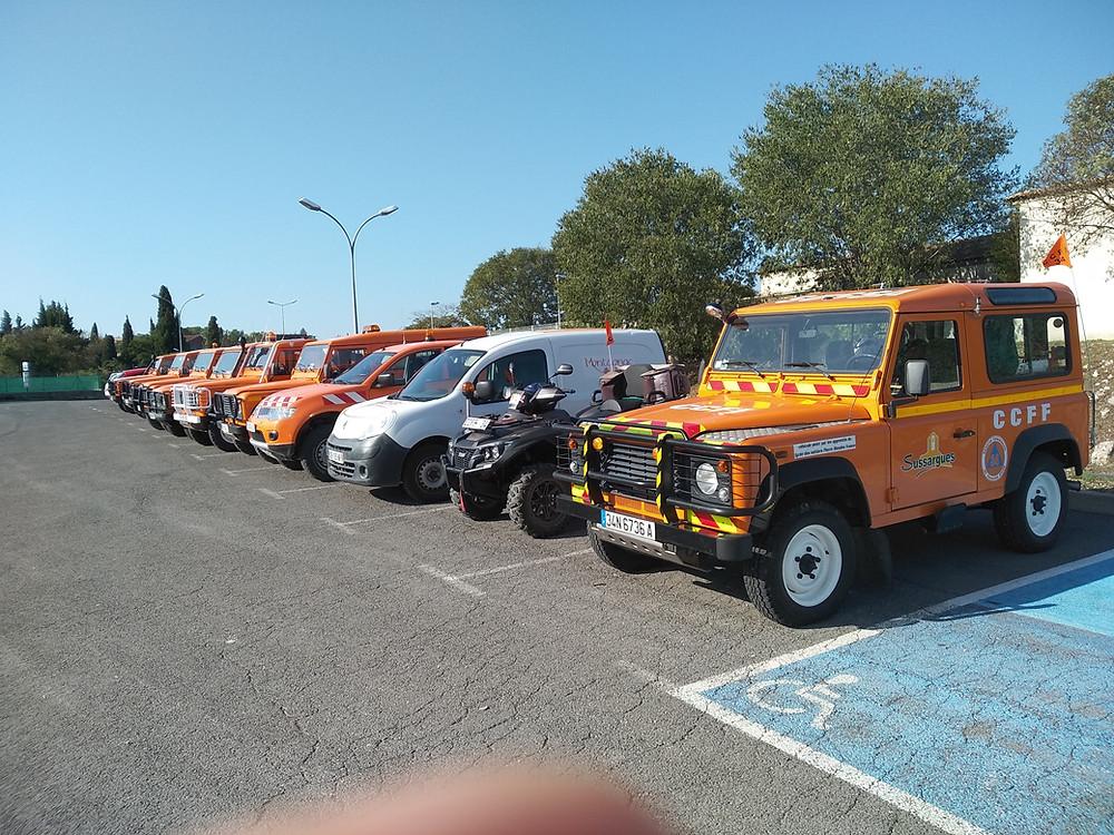 Vehicules de patrouilles