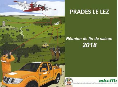 Réunion fin de saison 2018