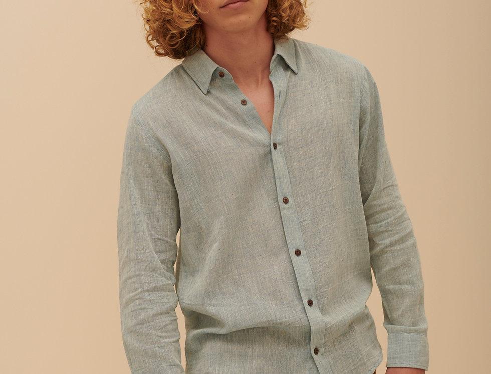Handwoven Blue (long sleeves)