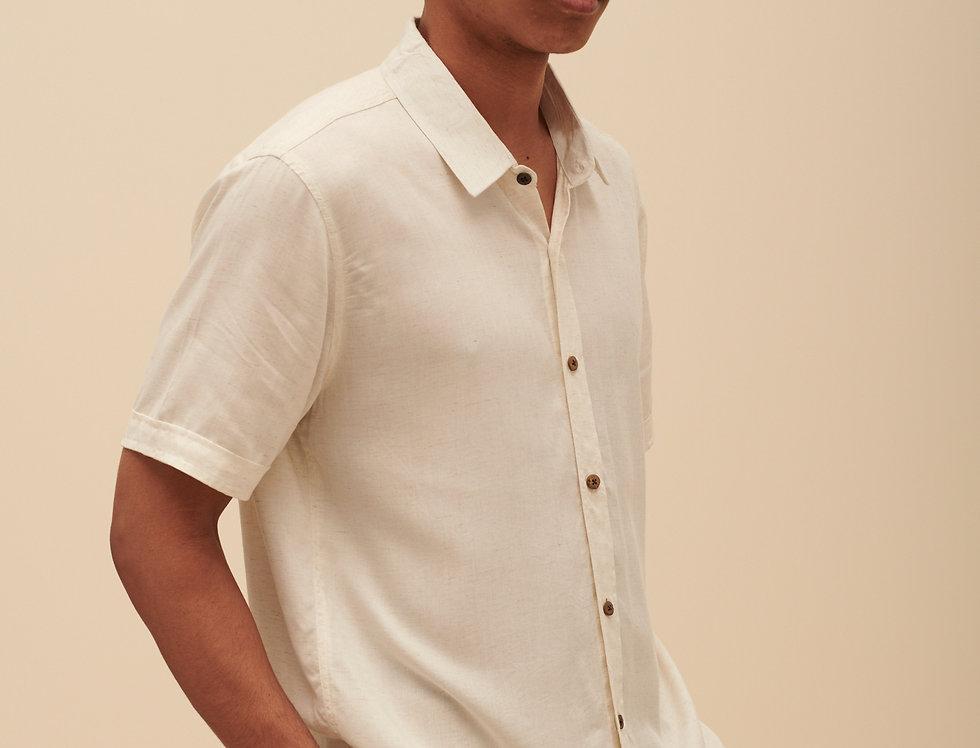 Banana Fiber & Linen (short sleeves)