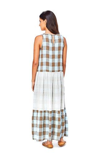 stone dress_light blue_100% algodão back