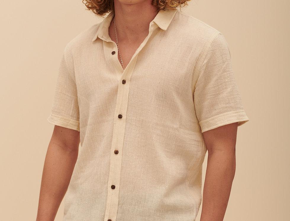 Handwoven White (short sleeves)