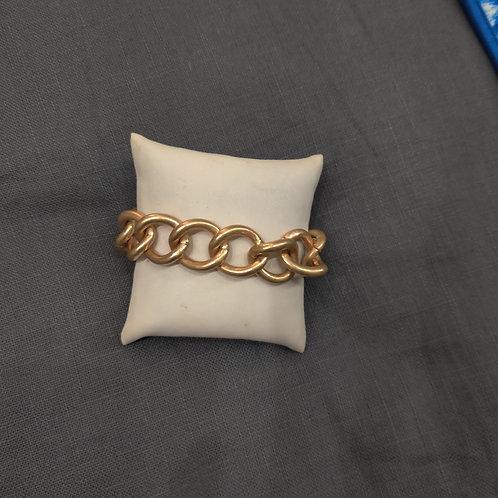Med. Gold Link Bracelet