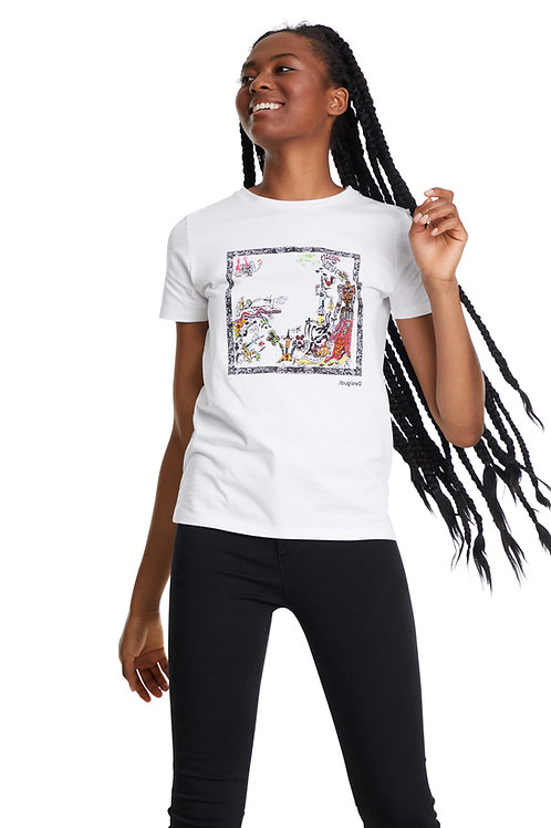 Christian LaCroix for Desigual Tee
