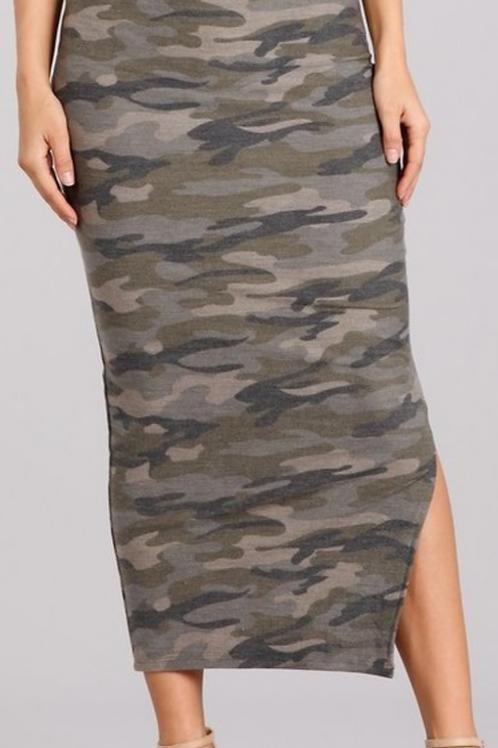 MidiCamo Skirt