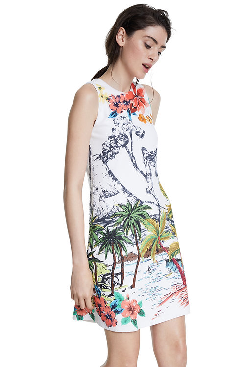 Desigual Tropical Pacific Shift Dress