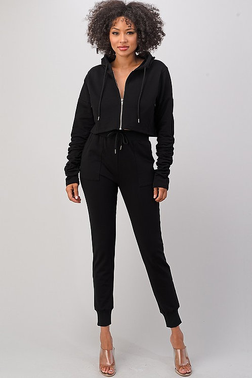 City Girl Jogger Suit