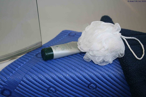 StayPut Anti-Slip Shower Mat - 50.8 x 50.8cm - Blue