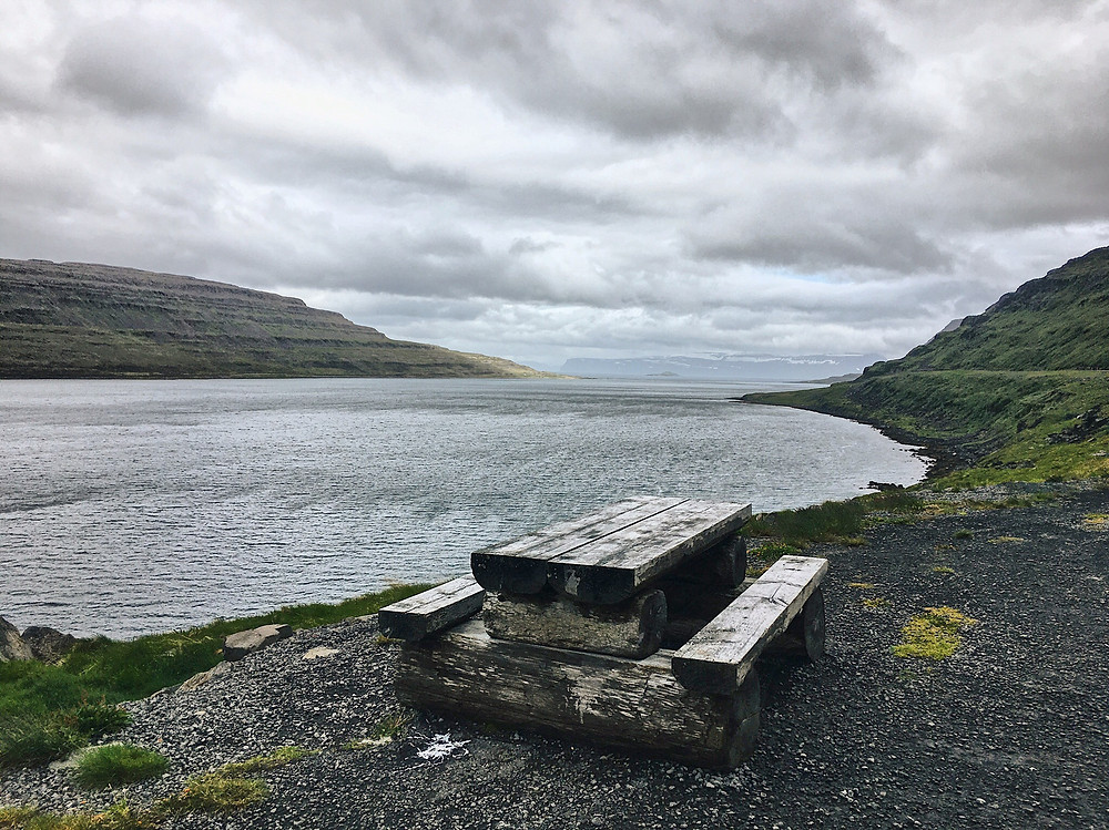 West Fjords - random lunch stop