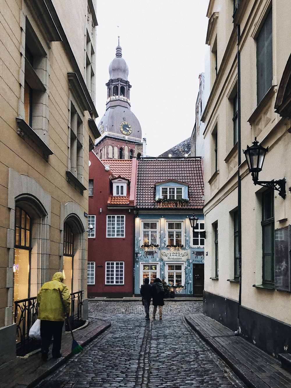 Riga Old Town in Latvia - Too Many Plants Blog