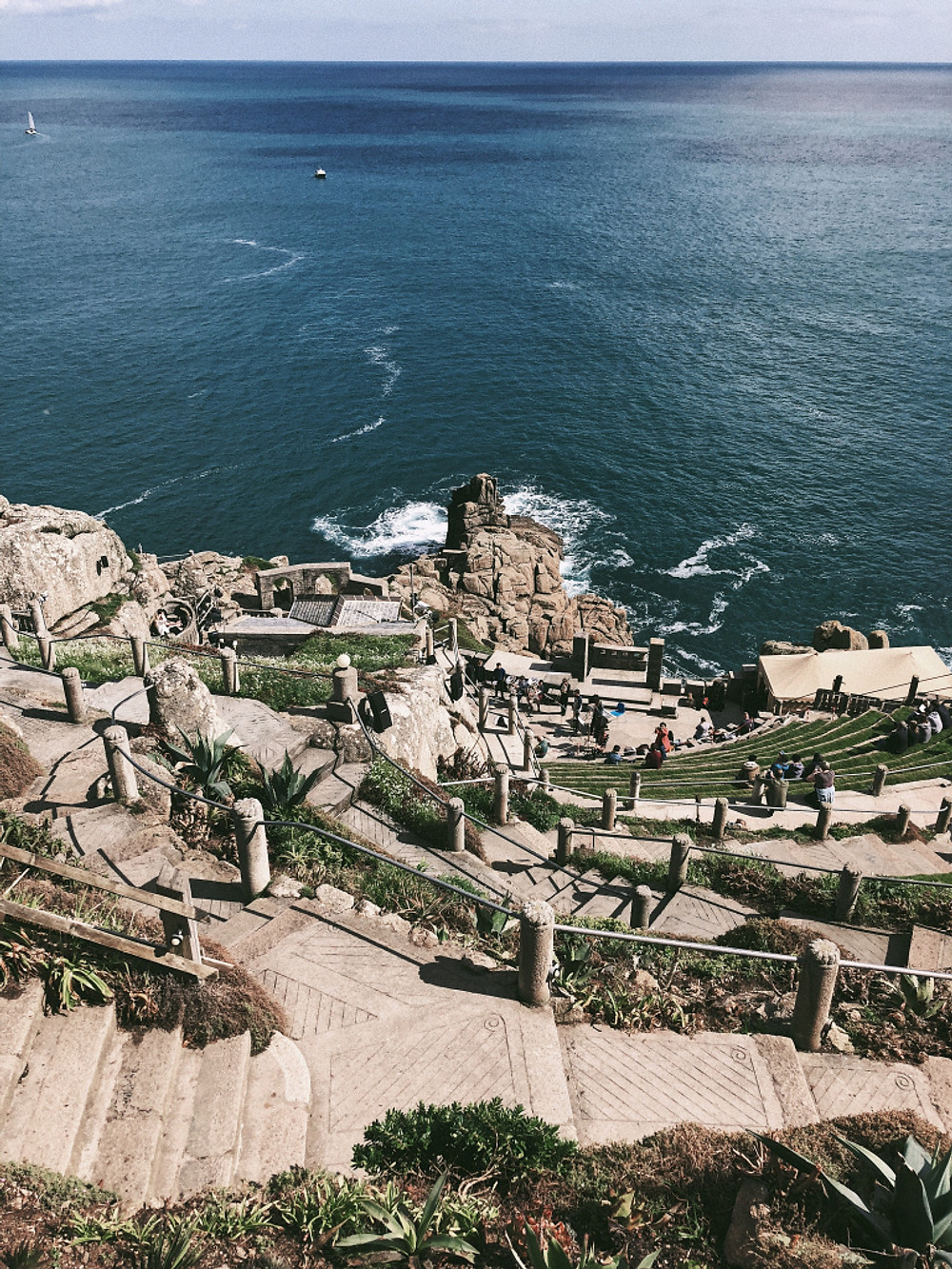 Cornwall - The Minack Theatre. Too Many Plants Blog