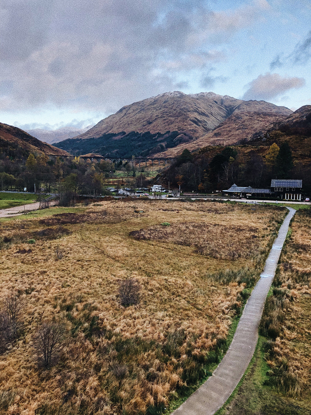 Glenfinnan, Harry Potter locations - Too Many Plants Blog