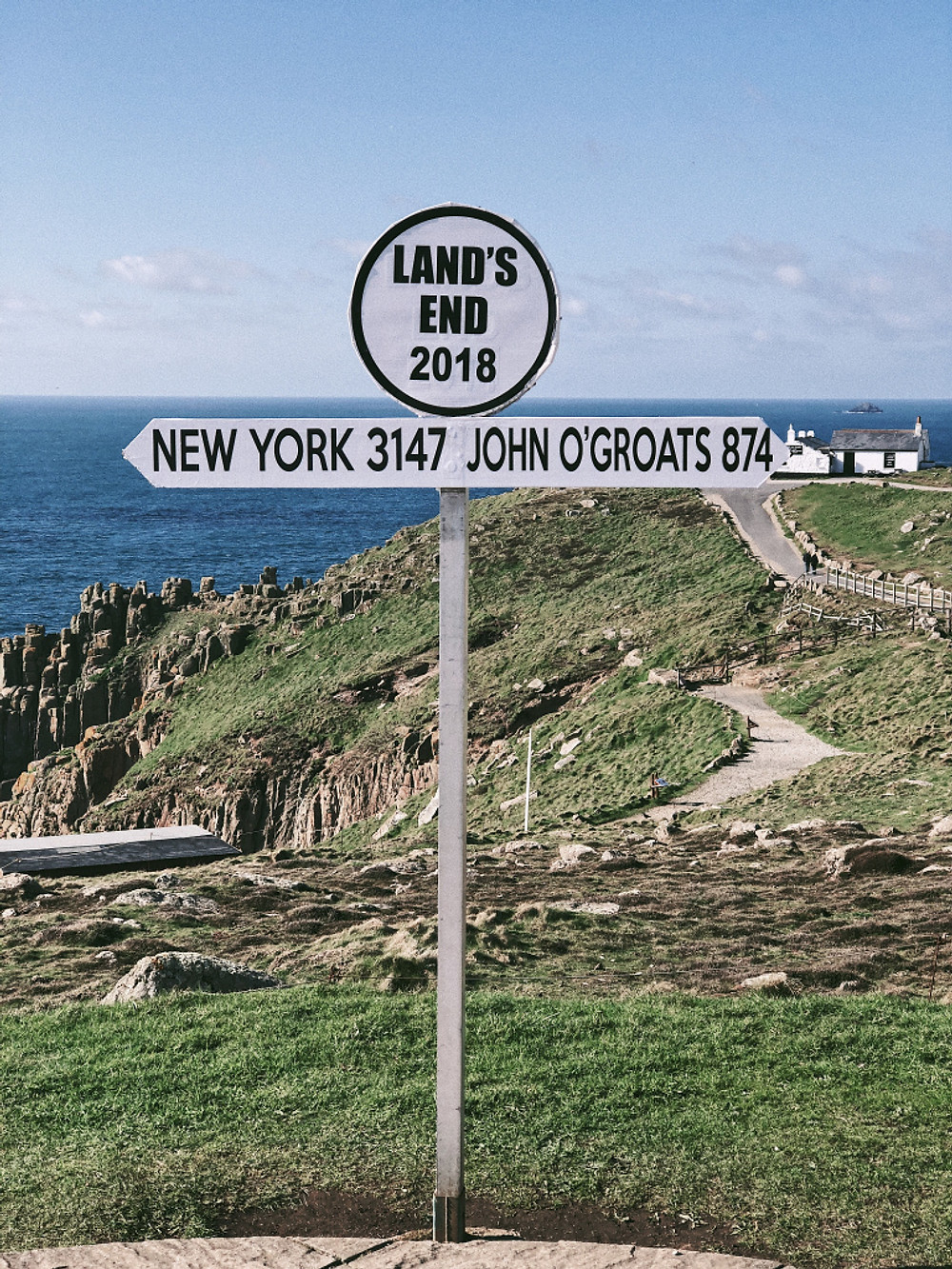 Cornwall - Land's End. Too Many Plants Blog