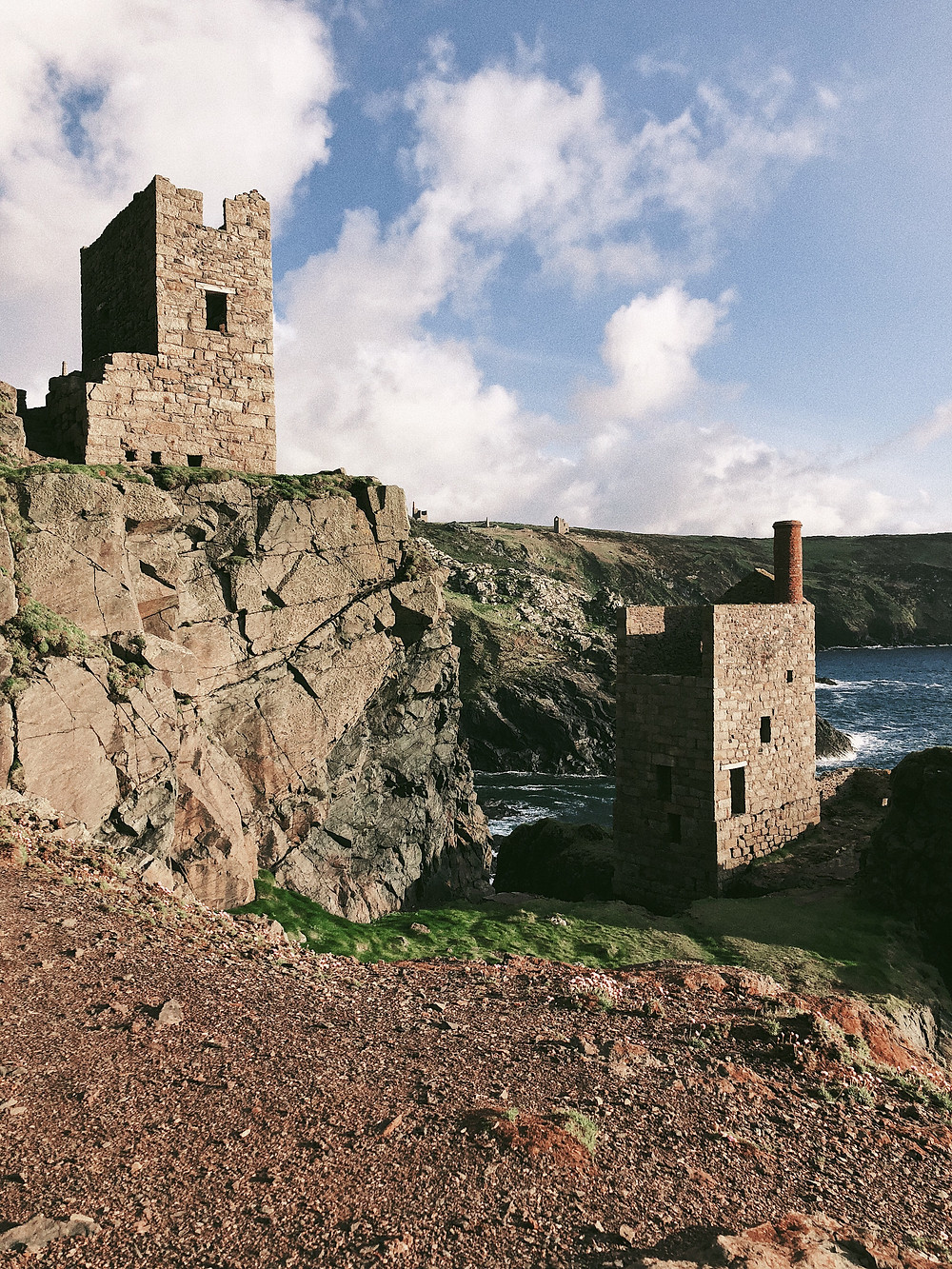 Cornwall - Crowns Engine Houses. Too Many Plants Blog