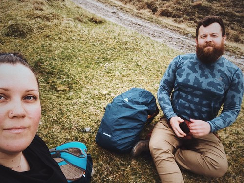 West highland way, Tyndrum and Bridge of Orchy, May 2019