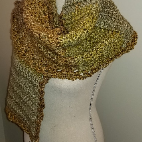 Unique Warm Wooly Scarf