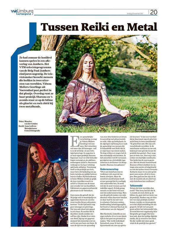 Biografie Viënna Sharana Voerendaal Zuid-Limburg