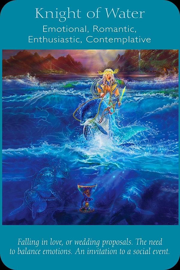 Sharana Online Engelentarot Ridder Van Water