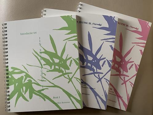 Set Jin Shin Jyutsu Zelfhulpboeken 1, 2 & 3