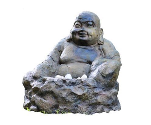 Boeddha Met Led Verlichting.Happy Boeddha Fontein Xl Met Led Verlichting