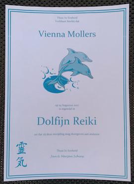 Dolfijn Reiki