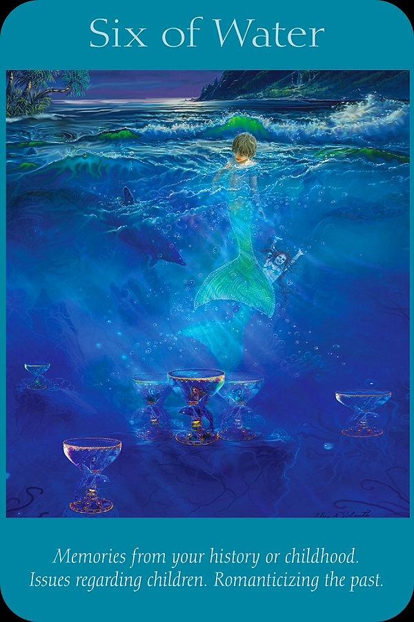Sharana Online Engelentarot Water Zes